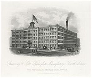 Steinway's factory in Manhattan, New York City, 1876